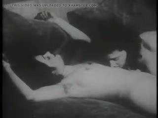 Rijpere harig lesbiennes retro film, gratis porno db