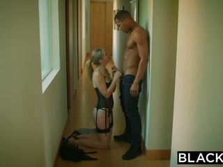 Blacked hot bojo cuckolds hubby with young ireng.