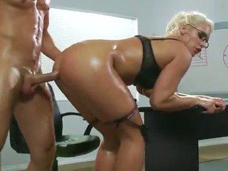 office sex, sexy, prvi analni