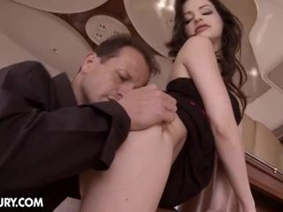 Ann marie suck his tasty big cock and fucked hard