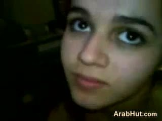 Arab jovem grávida gaja a chupar dela boyfriends caralho
