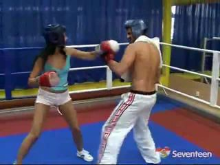 Porno içinde the boks ring