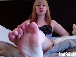Are you trying to sneak a peek at my feet?