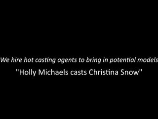 Nubiles Casting Holly Michaels Cast Christina Snow Ep4