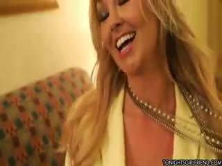 real big boobs you, nylon, blonde
