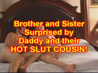 Irmão e sister caralho seu miúda prima