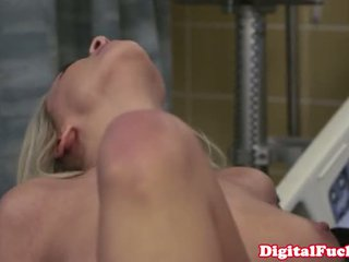 Busty Bibi Jones Blonde Nurse Fucks Her Patient