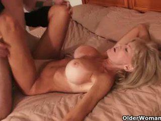 big boobs, cougar, gilf