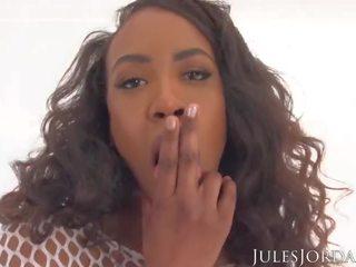 Jules jordan - melnādainas beauty demi sutra fucked grūti uz pov