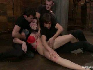 sexe hardcore, beau cul, double pénétration