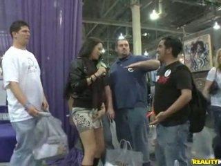 Havoc roams around in convention center