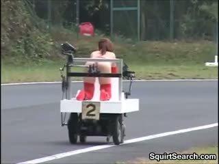 Jepang kurang ajar machine race outside