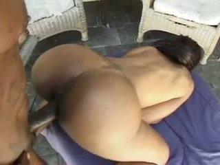 schwarz und ebony, anal, haupt;