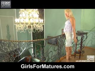Susanna And Nora Pussyloving Mama Inside Action