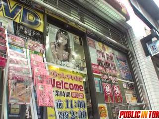 japonec, sex na veřejnosti, výstřik