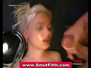 Bukkake suck fuck and facial