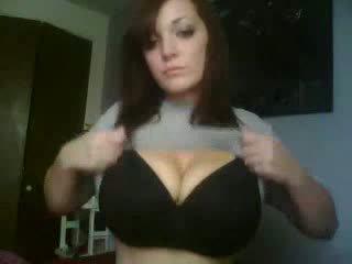 Roztomilý webkamera dívka domácívyrobený video