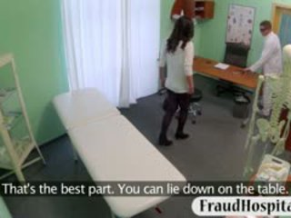 Nasty Patient Fucked With Fake Doctor