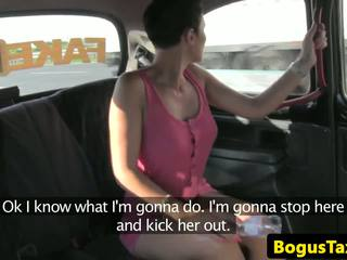 Euro Amateur Fucked Hard on Backseat of Taxi: Free Porn cf