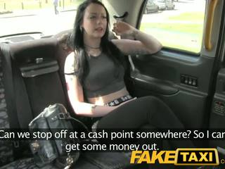 Faketaxi tinedyer gets what she deserves