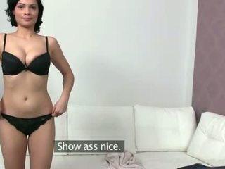 Eksotisk sylva enjoys første porno tryout