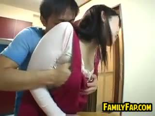 Seksowne japońskie krok matka
