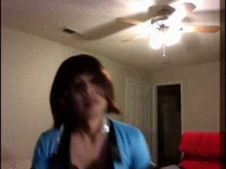 Amatieri crossdresser dejošas & masturbation video