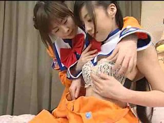 Japonsko lezbické teens video