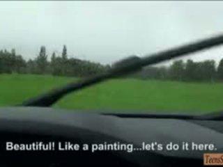 Sexy Taissia Shanti Likes An Amateur Anal Sex In The Car