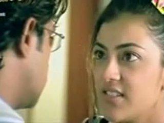 Telugu Actress Kajol Agarwal Showing Boobs