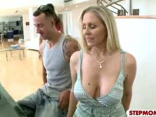 brunette nice, new big boobs, all blowjob gyzykly