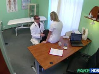 Nancy Is Flirtatious And Naughty Nurse