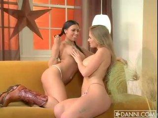 big tits, lesbian, pornstars
