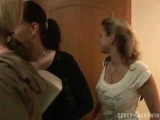 Geil tsjechisch couples in een horby swingers party