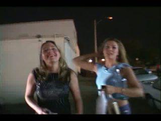 Drunk wild party girls getting crazy Video