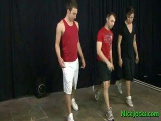 Astonishing Jock Gay Threesome 13 By Niceramrods