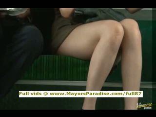Rio innocent china chica es follada en la autobús