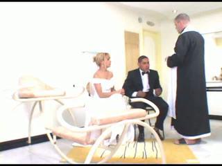 szőke, brides, milf
