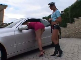 Lesbisch agent arrested sexy traffic violator