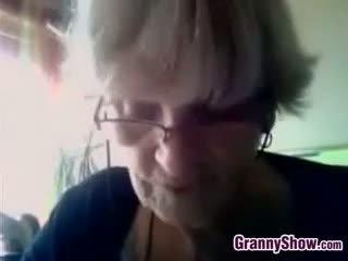big boobs, webcam, granny