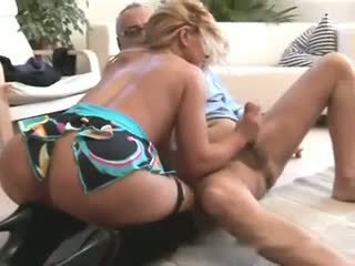 Old Man and a Brazil Hot Brazilian Girl, Porn 35