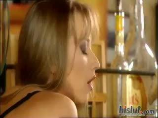 výstřik, cumshot, blondýnka