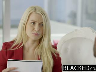 Blacked obchod blondýna anikka albrite zadok fucked podľa a bbc