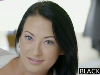 Blacked বালিকা beauty tries আন্তবর্ণ পায়ুপথ যৌন