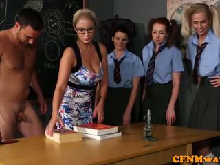 Cfnm school