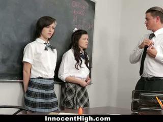Innocenthigh - เซ็กส์สามคน ด้วย shelby ดี และ allison rey