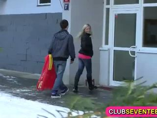 Club Seventeen: Russian beauty banged hard