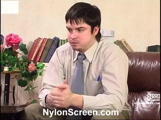 Meredith en adam screened terwijl having nylonsex