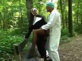 babes, outdoor, nun