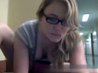Webcam Fun In Public Library